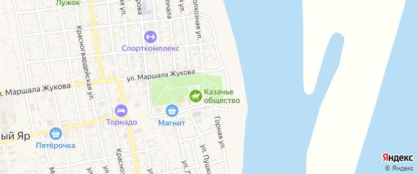Животноводческая точка Манджиково на карте села Черного Яра Астраханской области с номерами домов