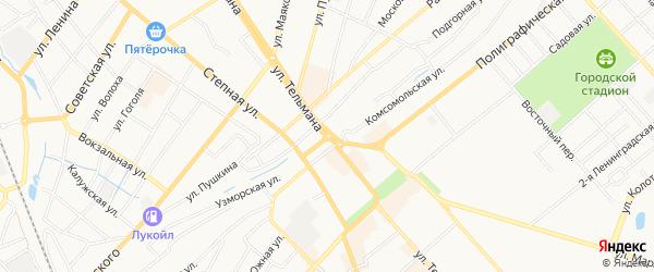 ГСК Волгомост на карте Энгельса с номерами домов
