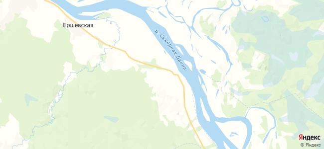 Телеговский Починок на карте