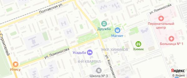 Улица Ломоносова на карте Энгельса с номерами домов