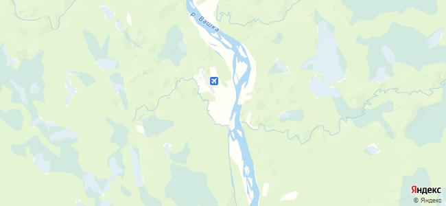 Олема на карте