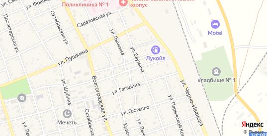 Улица Горького в Ахтубинске с номерами домов на карте. Спутник и схема онлайн