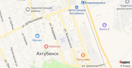 Переулок Чаплыгина в Ахтубинске с номерами домов на карте. Спутник и схема онлайн