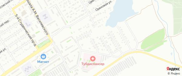 Экспериментальная улица на карте Энгельса с номерами домов