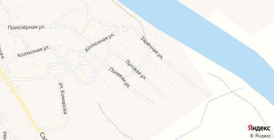 Луговая улица в Ахтубинске с номерами домов на карте. Спутник и схема онлайн