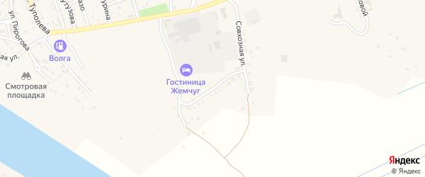 Южная улица на карте Ахтубинска с номерами домов