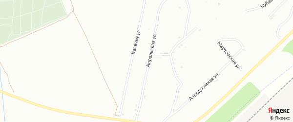 Апрельская улица на карте Энгельса с номерами домов
