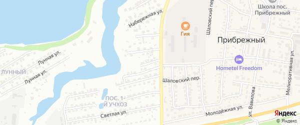 Набережная им генерал-лейтенанта Рудченко М.М. на карте Энгельса с номерами домов