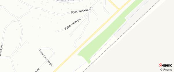 Проселочная улица на карте Энгельса с номерами домов