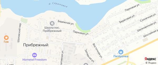 Парковая улица на карте Энгельса с номерами домов