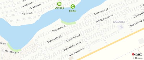 Береговая улица на карте Энгельса с номерами домов