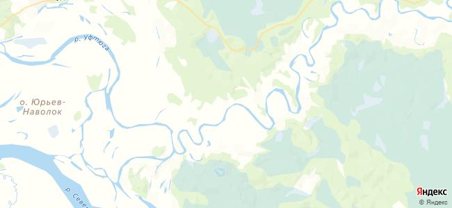 Относная на карте