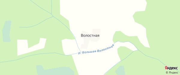 Карта Волостной деревни в Вологодской области с улицами и номерами домов