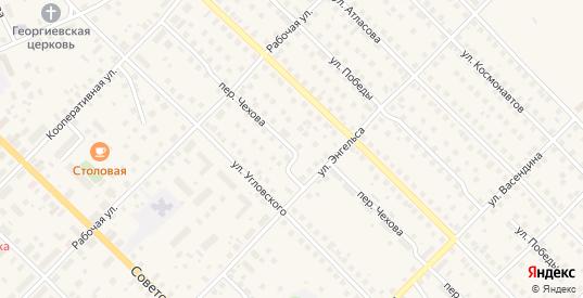 Переулок Чехова в Великом Устюге с номерами домов на карте. Спутник и схема онлайн