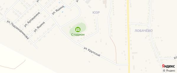 Улица Н.С.Мишутина на карте Порецкого села с номерами домов