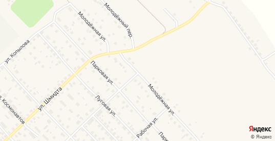 Молодежная улица в Великом Устюге с номерами домов на карте. Спутник и схема онлайн