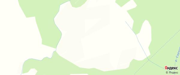 Карта деревни Монастыря в Вологодской области с улицами и номерами домов