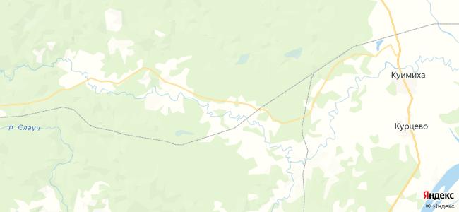 Рысья на карте