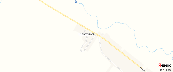 Карта поселка Ольховки в Мордовии с улицами и номерами домов