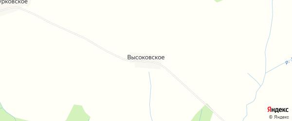 Карта деревни Высоковского в Костромской области с улицами и номерами домов