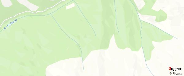 Карта села Чододы в Дагестане с улицами и номерами домов