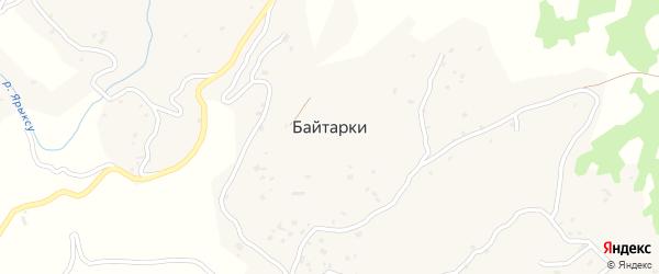 Молодежная улица на карте села Байтарки Чечни с номерами домов