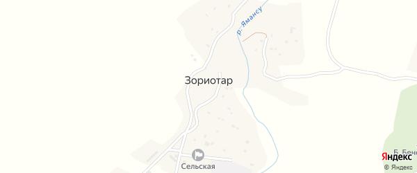 Улица Дучинская-1 на карте села Дучи Дагестана с номерами домов