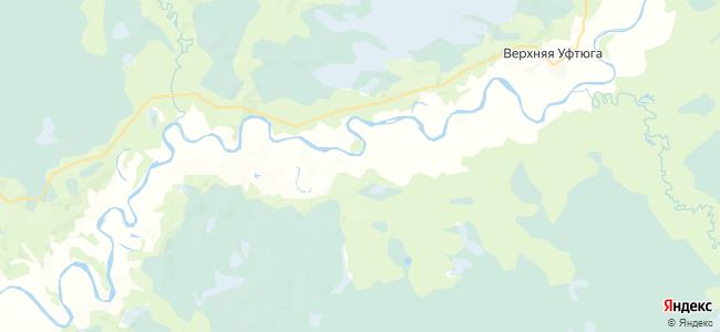 Погореловская на карте