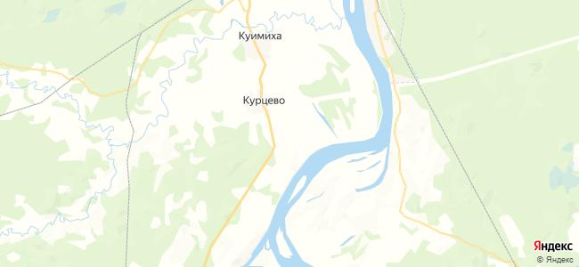 Прислон Большой на карте