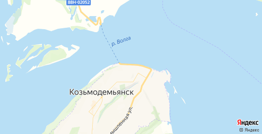 Карта Козьмодемьянска с улицами и домами подробная. Показать со спутника номера домов онлайн