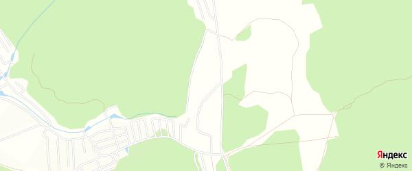 СНТ Ромашка на карте Кузнецкого района Пензенской области с номерами домов