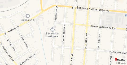 Пролетарская улица в Алатыре с номерами домов на карте. Спутник и схема онлайн