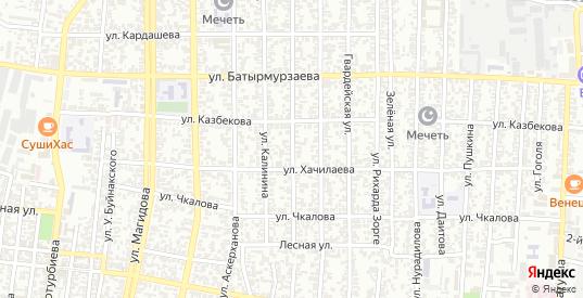 Московская улица в Хасавюрте с номерами домов на карте. Спутник и схема онлайн