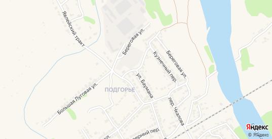 Улица Баумана в Алатыре с номерами домов на карте. Спутник и схема онлайн