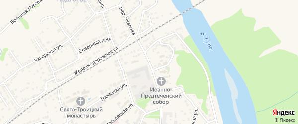 Площадь Октябрьской Революции на карте Алатыря с номерами домов