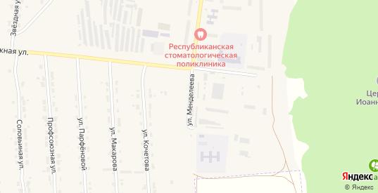 Улица Менделеева в Алатыре с номерами домов на карте. Спутник и схема онлайн