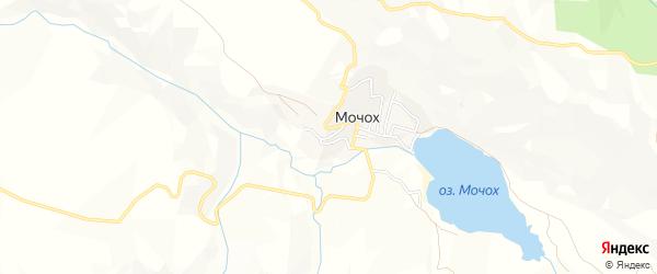 Карта села Мочоха в Дагестане с улицами и номерами домов