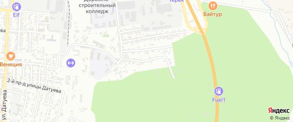 Воинов Интернационалистов улица 4-й проезд на карте Хасавюрта с номерами домов