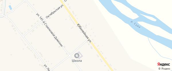 Юбилейная улица на карте села Стемасы с номерами домов