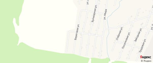 Береговая улица на карте Покровского села с номерами домов