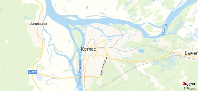 Слободской на карте