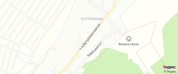 Бутурлинская 1-я улица на карте Кузнецка с номерами домов