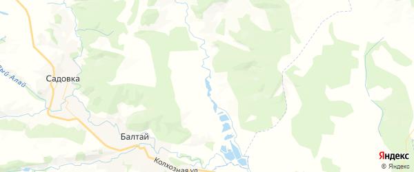 Карта территории Барнуковского МО Саратовской области с районами, улицами и номерами домов