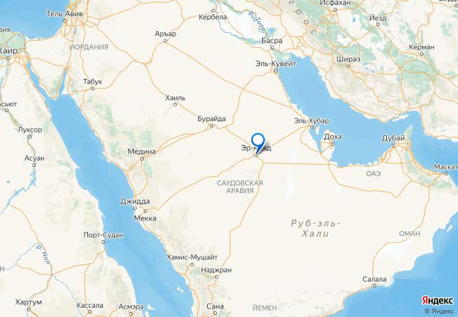 Саудовская аравия дубай на карте мира купить дом в египте недорого