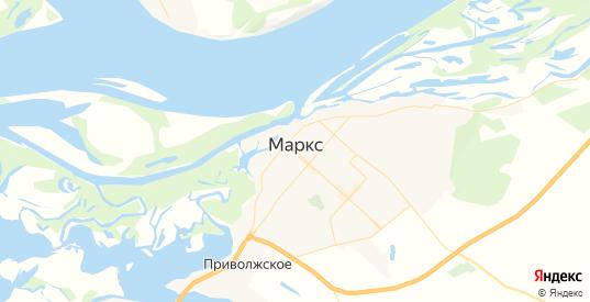 Карта Маркса с улицами и домами подробная. Показать со спутника номера домов онлайн