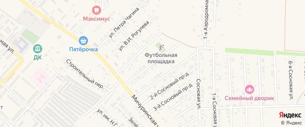 Улица Красикова на карте Маркса с номерами домов