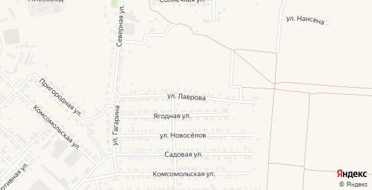 Улица Лаврова в Марксе с номерами домов на карте. Спутник и схема онлайн