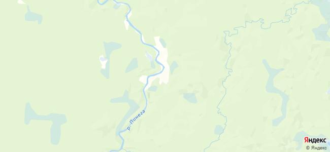 Осяткино на карте