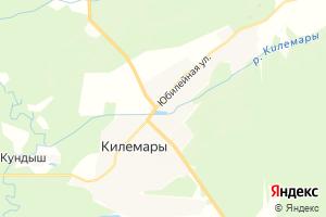 Карта пос. Килемары