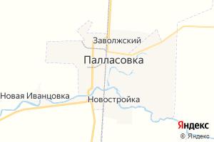 Карта г. Палласовка Волгоградская область